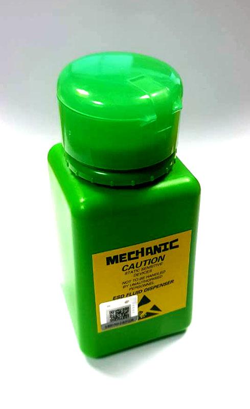 Тубичка за разтвор Mechanic 150ml / Зелен /