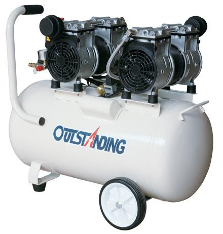 Безмаслен компресор Outstanding (Oilfree Air compressor) OTS-800X2-50L