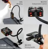 Вентилатор с осветление М1 за отстраняване на изгорели газове