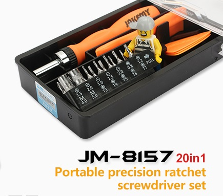 Комплект инструменти Jakemy JM-8157 20в1