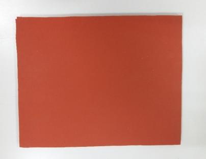Работна топлоустойчива подложка Червена / 200X250X8mm /
