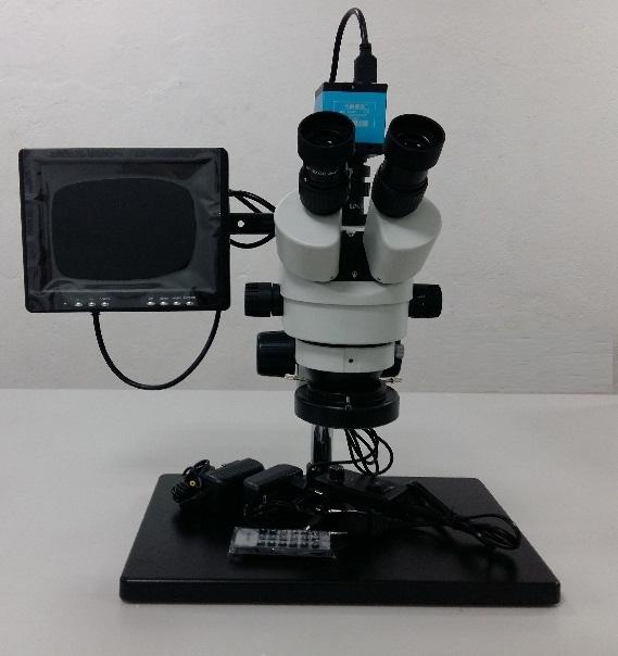 Микроскоп HDMI Видео-Бинокулярен B8007