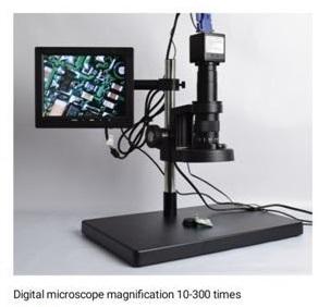 Видео Микроскоп (0.7X-4.5X) VGA OUT 1920X1080 с монитор 8' (Мод.3)