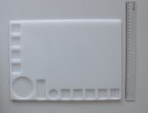 Работна топлоустойчива силиконова подложка / 35cm*25cm