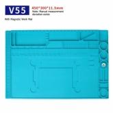 Силиконова антистатична, топлоустойчива, магнитна подложка MECHANIC V55 / 450*300mm