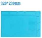 Силиконова антистатична, топлоустойчива, магнитна подложка MECHANIC V52 / 320*230mm