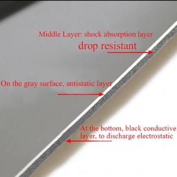 Работна антистатична топлоустойчива  подложка / 70cм 50см